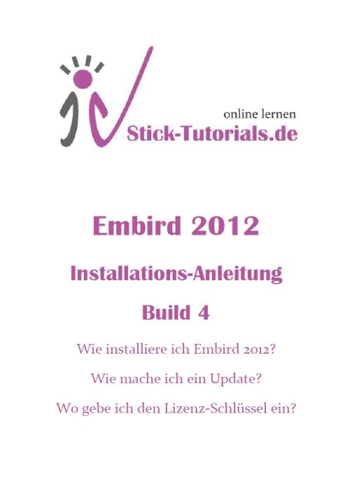 Installations-Anleitung angepaßt