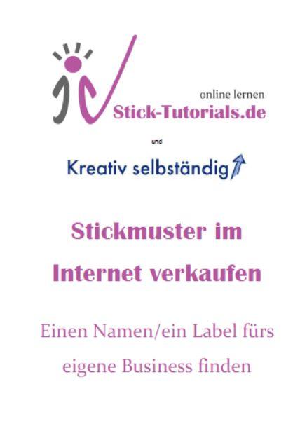 """Näher vorgestellt: Kurs """"Einen Firmennamen/ein Label finden"""""""