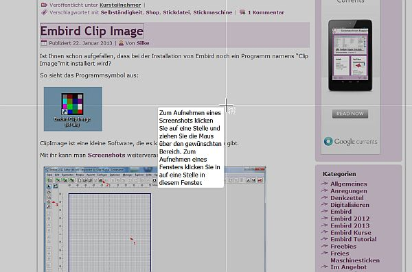 Tolles Tool für Screenshots: Skitch