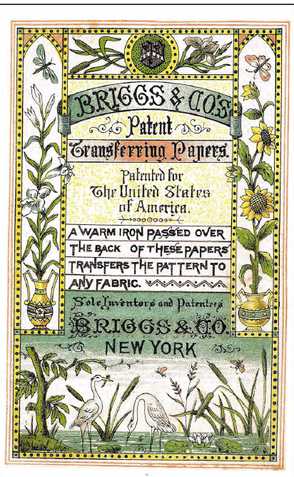 Spannend: Briggs & Co.´s Patent Transferring Papers