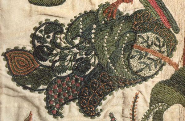 Was ist eigentlich – Crewel / Jacobean Embroidery?