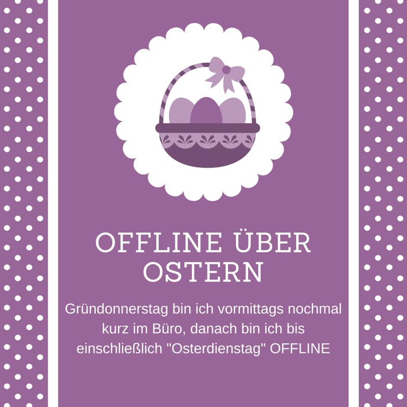 Offline über Ostern