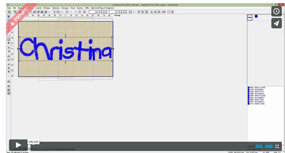 Neues Kundenvideo zum Brother-Versatzrahmen 10×17,2 cm