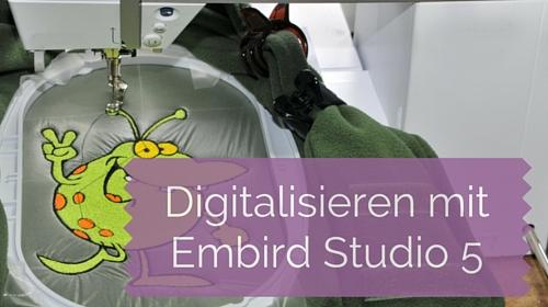 Neu in der Academy: Digitalisieren lernen mit Embird Studio 5 – Applikationen