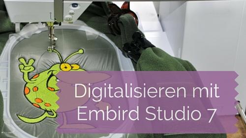 Neu in der Academy: Digitalisieren lernen mit Embird Studio 7 – Redwork, Rahmen & Rechtliches