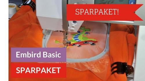 Jetzt live: Embird Basic Sparpaket