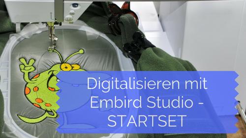 Neu: Digitalisieren mit Embird – Startset