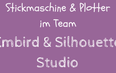 Neuer Video-Kurs: Embird& Silhouette Studio