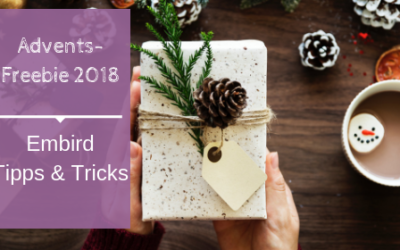 Adventsfreebie 2018