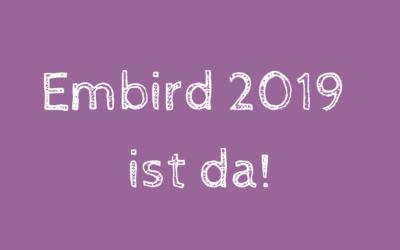 Embird 2019 ist da!