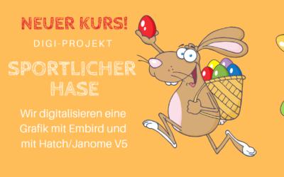 Neu: Digi-Projekt Sportlicher Hase
